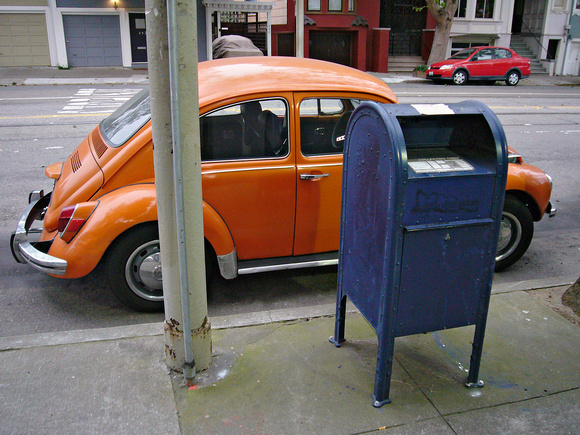 Mailbox, Duboce and Sanchez Sts.